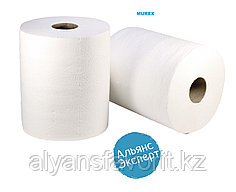 Бумажные полотенца с центральной вытяжкой 1- слойные, 140 м. 9 рул. в уп.