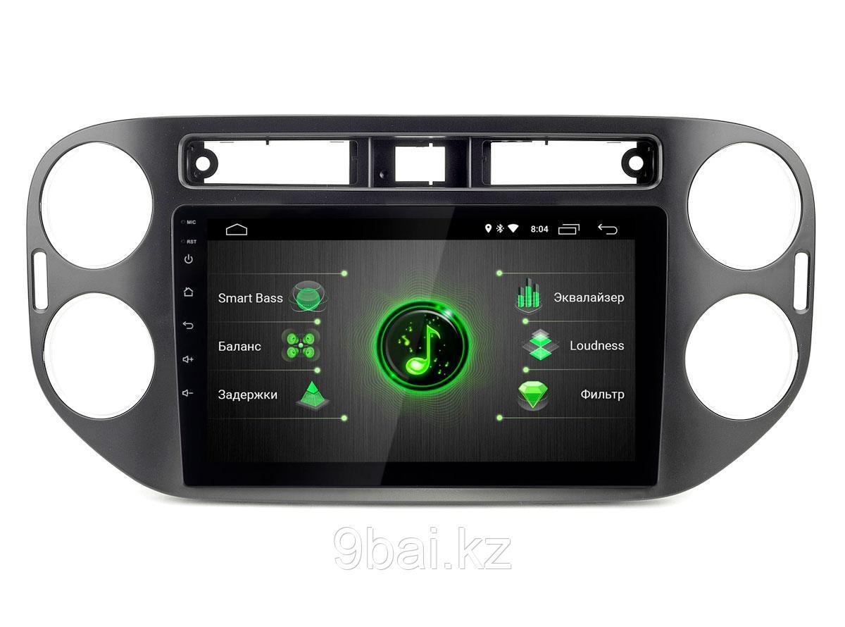 "ШГУ VW Tiguan 10-15 бел./цв. MFD, black (Incar DTA-8606) Android 10/1024*600, BT, IPS, wi-fi, DSP, 9"""