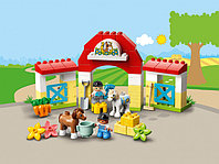LEGO DUPLO 10951 Конюшня для лошади и пони, конструктор ЛЕГО