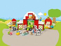 LEGO DUPLO 10952 Фермерский трактор, домик и животные, конструктор ЛЕГО