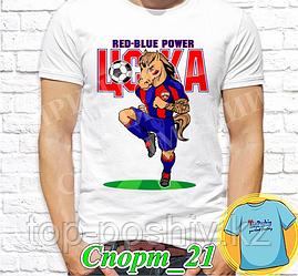 "Футболка с принтом ""Спорт"" - 21"