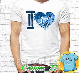 "Футболка с принтом ""Спорт"" - 22"