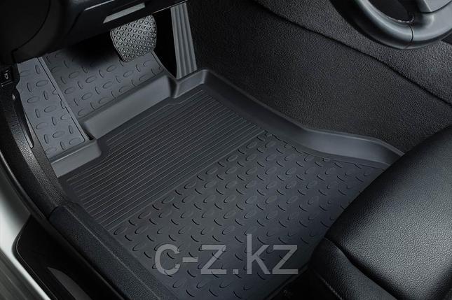 Резиновые коврики с высоким бортом для Volkswagen Touareg II 2010-2017, фото 2
