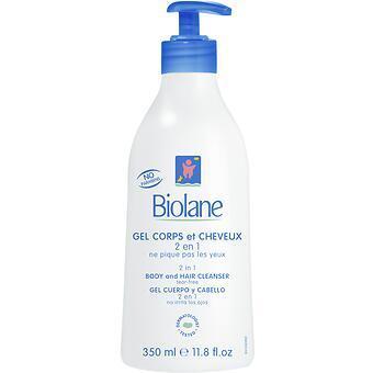 Биолан Гель для тела и волос с дозатором 350 мл