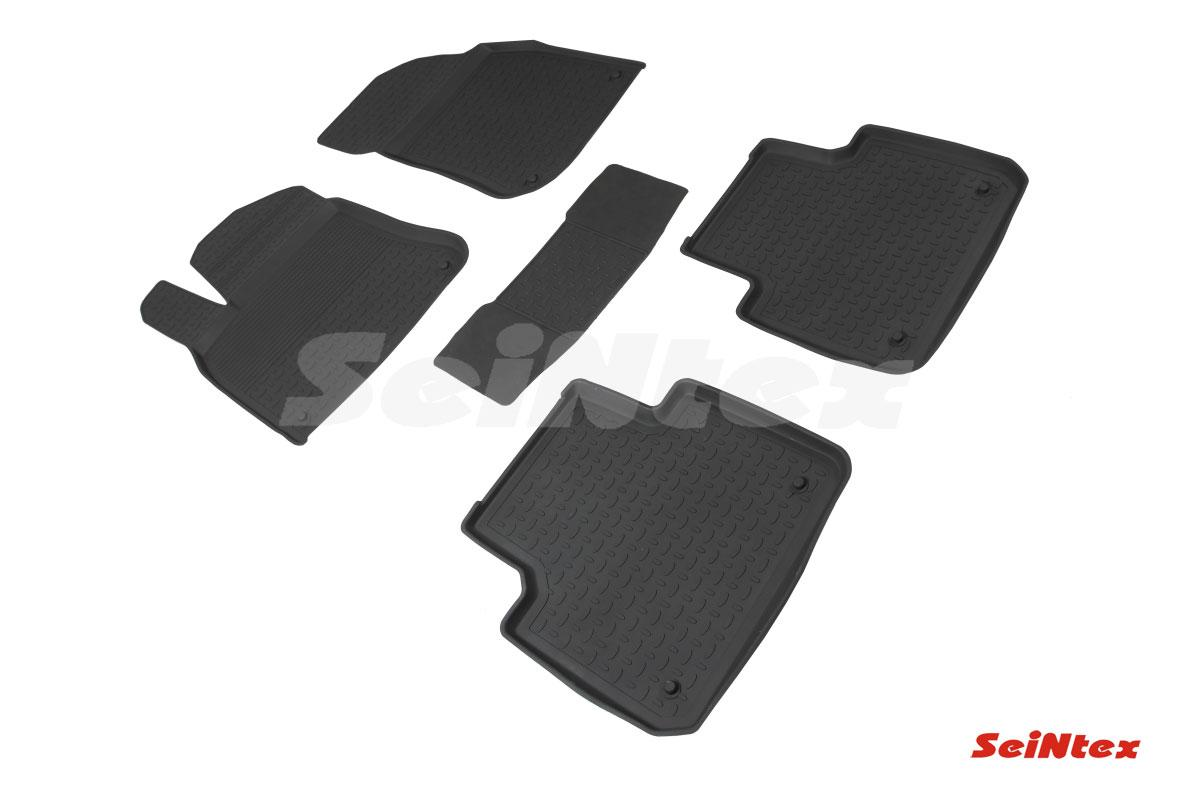Резиновые коврики с высоким бортом для Volkswagen Touareg III 2018-н.в.