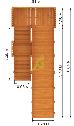 Детская деревянная зимняя горка Snow Fox, скат 5,9 м, фото 6