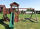 Детская площадка IgraGrad Панда Фани с балконом и сеткой, фото 7