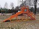 """Зимняя горка """"Снежинка"""", скат 4 м, фото 3"""