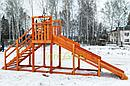 """Зимняя горка """"Снежинка"""", скат 4 м, фото 10"""