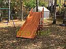 Деревянные зимние горки  Модуль Snow Fox, скат 4 м, фото 3