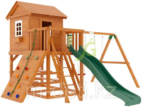 """Детская деревянная площадка   Домик 2"""""""