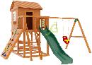 """Детская деревянная площадка   Домик 2"""", фото 3"""