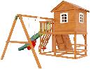 """Детская деревянная площадка   Домик 2"""", фото 5"""