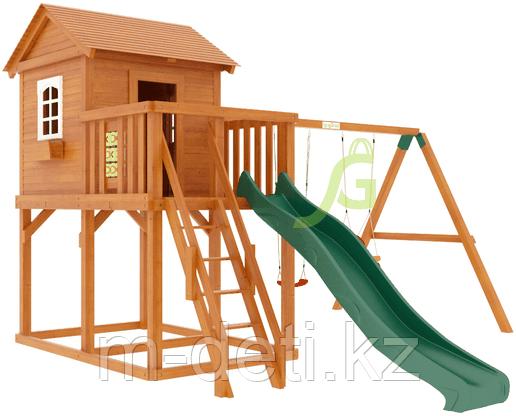 """Детская деревянная площадка  Домик 1"""""""