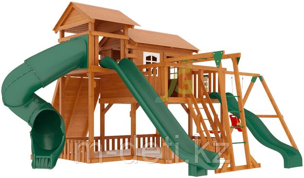 """Детская деревянная площадка  Домик 5"""""""