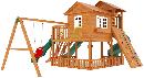 """Детская деревянная площадка  Домик 5"""", фото 4"""
