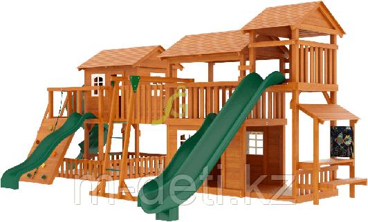 """Детская деревянная площадка Домик 6"""""""