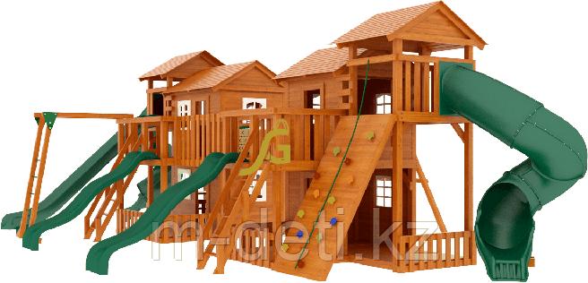 """Детская деревянная площадка  Домик 7"""""""