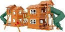 """Детская деревянная площадка  Домик 7"""", фото 4"""