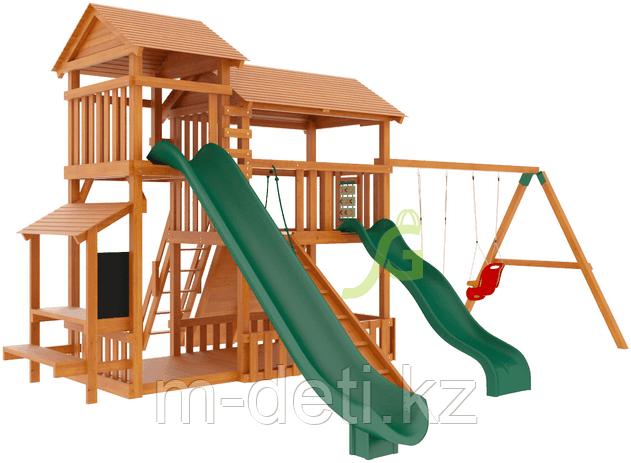 """Детская деревянная площадка  Домик 3"""""""