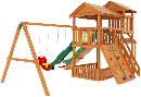 """Детская деревянная площадка  Домик 3"""", фото 3"""