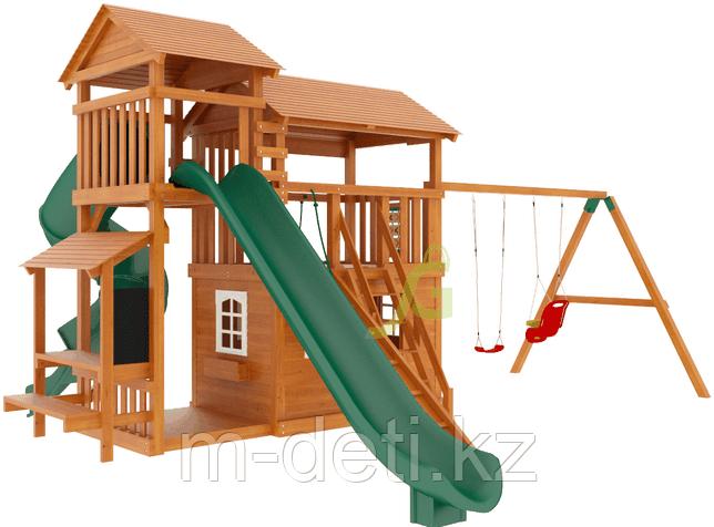 """Детская деревянная площадка   Домик 4"""""""