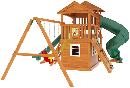 """Детская деревянная площадка   Домик 4"""", фото 4"""