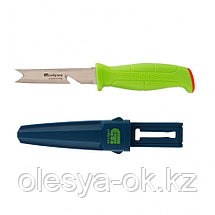 """Нож туристический """"поплавок"""" многофункциональный для туристов, рыбаков и садоводов 220 мм Сибртех, фото 3"""