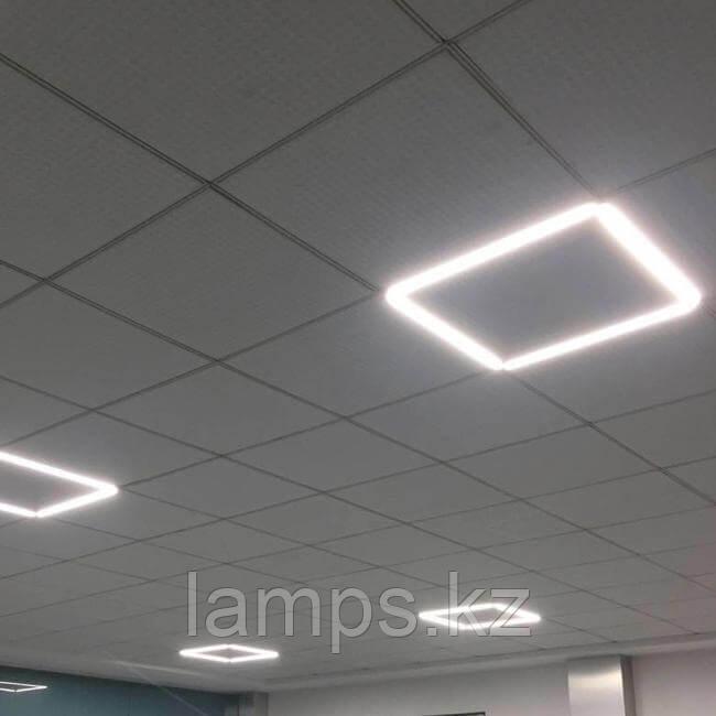Светодиодные рамки на потолки Армстронг АNGEL-A/595X595/40W/6500K/220V