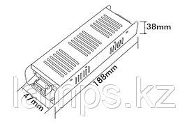 Тонкие блоки питания PS120-S/120W/12VDC/IP21