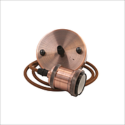 Подвесной декоративный патрон ESTELLE-B/E27/MAX.100W/BRONZE