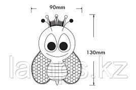 Ночник переносной светодиодный BEE/3xRLED/RGB/220V/EU.PLUG/Ночник