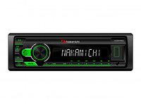 Nakamichi NQ511BG/ 1 din медиа-ресивер, USB, AUX, ВТ, ПДУ, 4*50 Вт, зел./