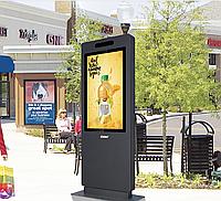 Уличный всепогодный информационный, рекламный, интерактивный киоск. Диагонали 32-75'' IP65 Outdoor Kiosk