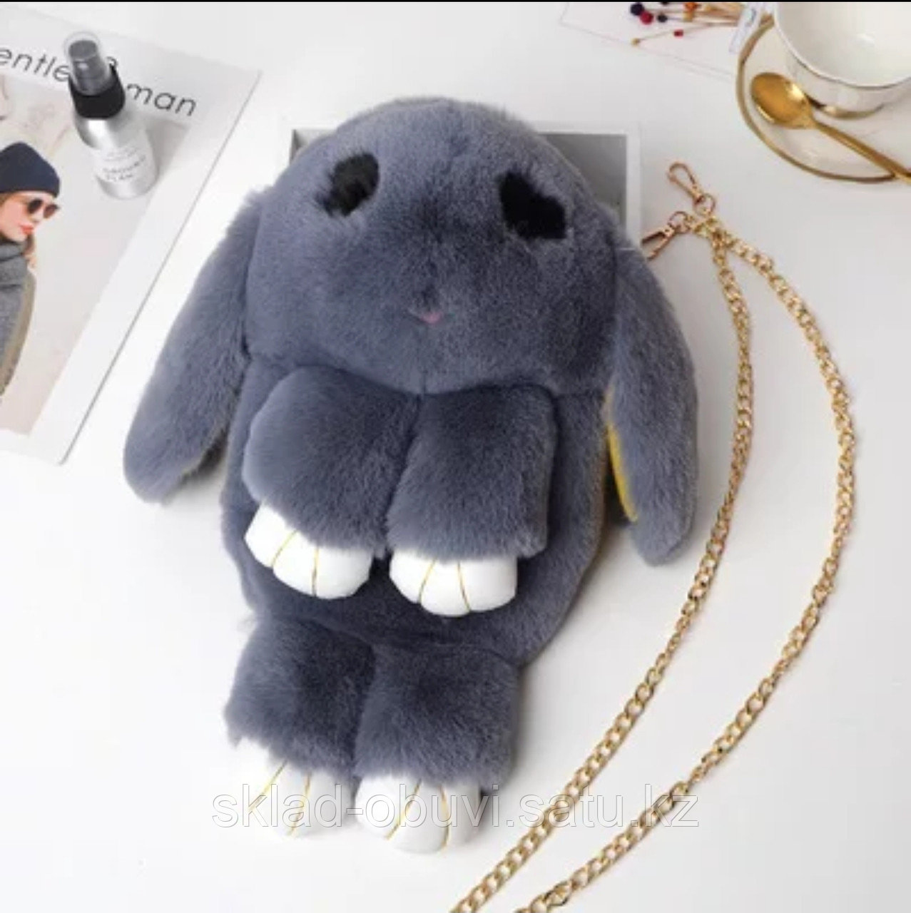 Кролик рюкзак - фото 3