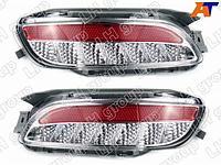 Фонарь в задний бампер TOYOTA HARRIER/LEXUS RX330 03-08 диодные красн/белые, комплект