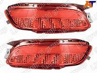 Фонарь в задний бампер TOYOTA HARRIER/LEXUS RX330 03-08 диодные красные, комплект
