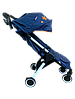 Коляска прогулочная Prego 301 синяя, фото 2
