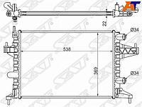 Радиатор OPEL CORSA C 1.0/1.2/1.4 MT 00-07/OPEL COMBO 1.2/1.4 00-