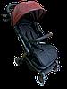 Прогулочная коляска Teknum 308 (ЭКОКОЖА) Бордовая, фото 2