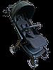 Прогулочная коляска Teknum 308 (ЭКОКОЖА) Черная, фото 2