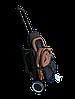 Прогулочная коляска Teknum 308 (ЭКОКОЖА) Рыжая, фото 4