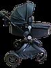Детская коляска Hot mom 2 в 1 ЭКО-КОЖА, фото 3