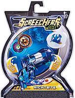 Дикие Скричеры. Машинка-трансформер Найтбайт л1 ТМ Screechers Wild (линейка 1)
