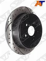 Комплект дисков тормозных задних перфорированных SUBARU FORESTER SH/IMPREZA GR/LEGACY/OUTBACK BL/BP/