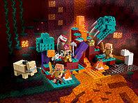 LEGO Minecraft 21168 Искажённый лес, конструктор ЛЕГО