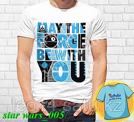 """Футболка с принтом """"Star wars \ Звездные войны"""" - 5"""