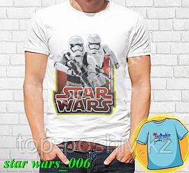 """Футболка с принтом """"Star wars \ Звездные войны"""" - 6"""