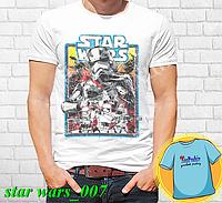 """Футболка с принтом """"Star wars \ Звездные войны"""" - 7"""