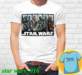 """Футболка с принтом """"Star wars \ Звездные войны"""" - 16"""